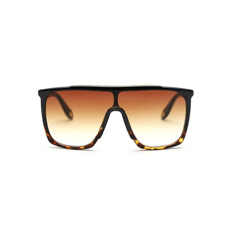 Square Large Sunglasses sunglasses Vinty Jewelry Sandybrown