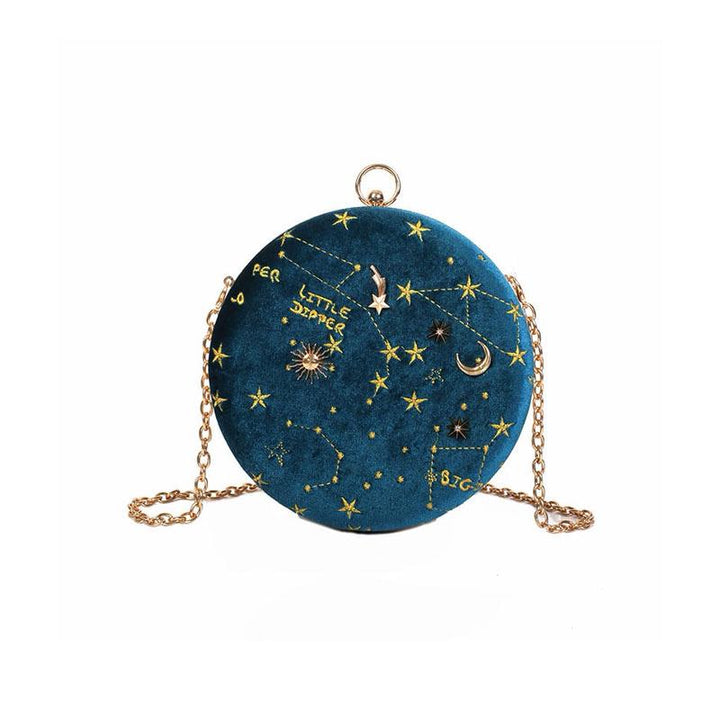 Starry Night Crossbody Bag bag Vinty Jewelry Blue
