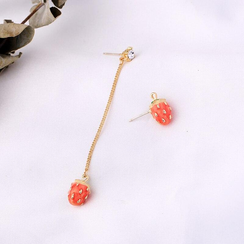 Strawberry Dangle Earrings earrings Vinty Jewelry
