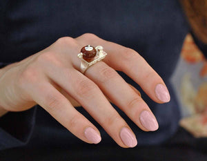 Teapot Ring ring Vinty Jewelry