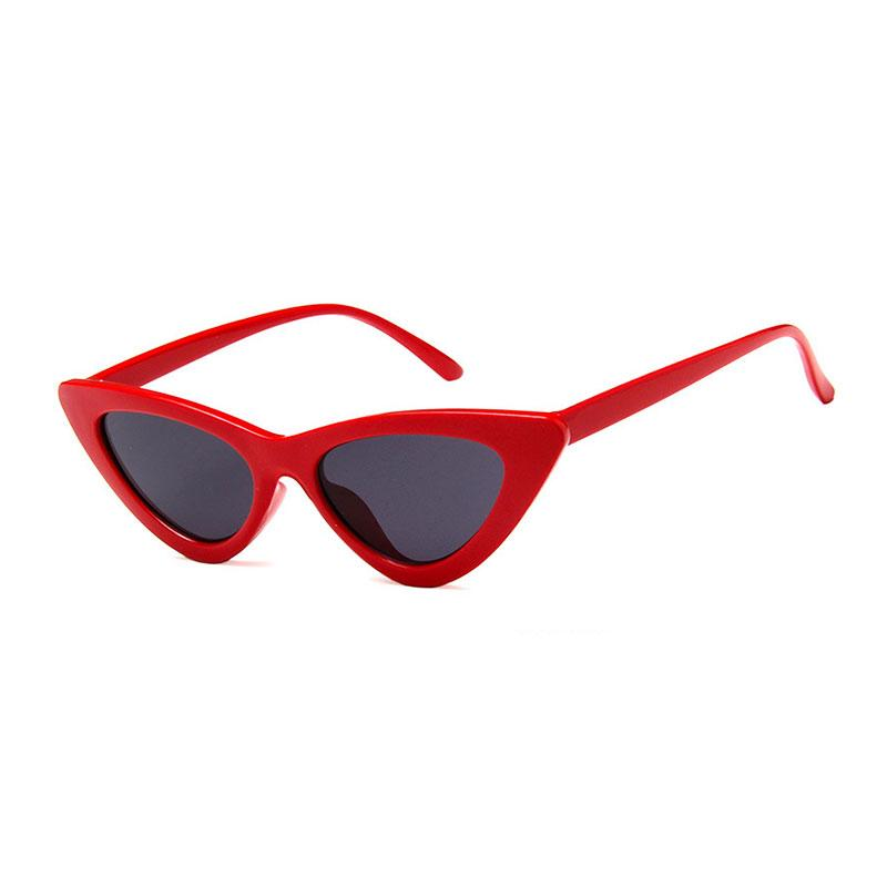 THE AMY - Classic Red Cat-Eye Sunglasses sunglasses Vinty Jewelry