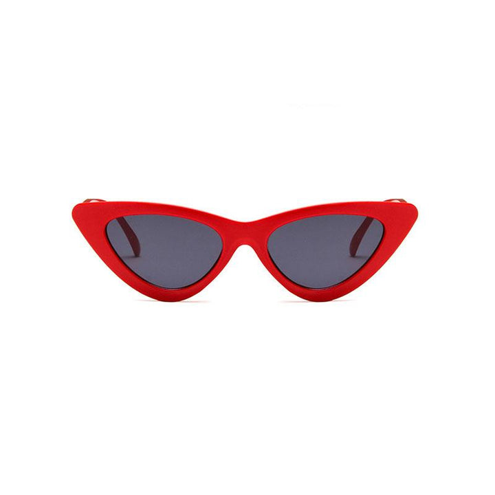 THE AMY - Classic Red Cat-Eye Sunglasses sunglasses Vinty Jewelry Black