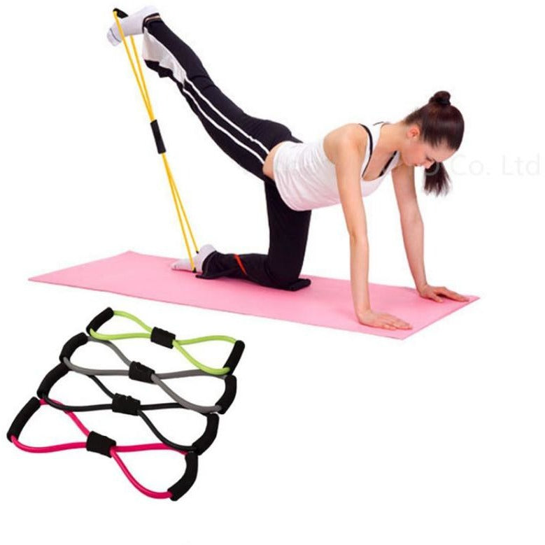 Elastic Tube Resistance Training Bands
