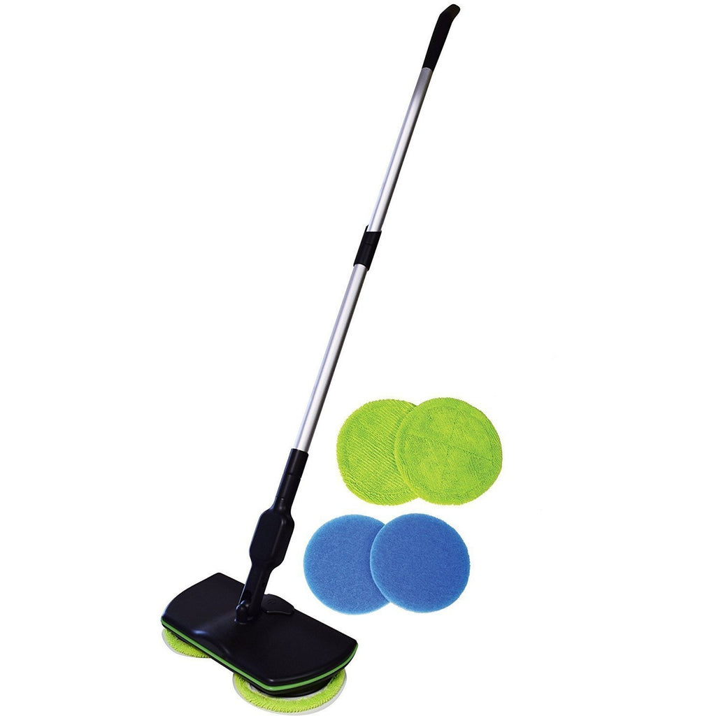 DIRTY-SPINAWAY® Wireless Rotary Electric Mop (1 Set)