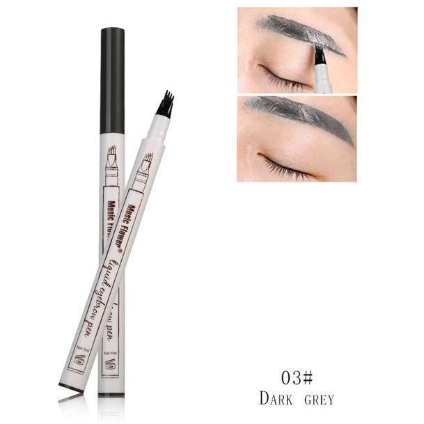 Do you want your facial features to stand out but also appear subtle? Are you tired of eyebrow pencils that do not achieve a natural look? Then the Microblading Eyebrow Tattoo Pen is for you!