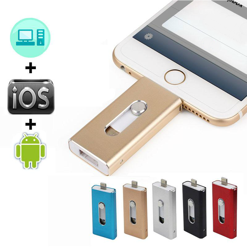 iOS Flash Drive (For iPhone & iPad)