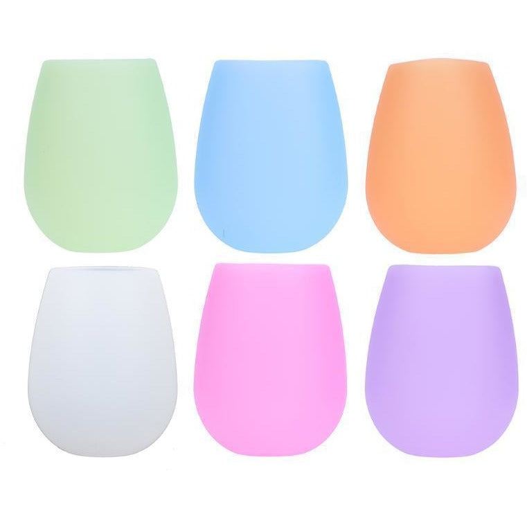 Cute N' Colorful Anti-Slip Silicone Cups