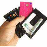 Carbon Fiber Magnetic Modular Card Holder