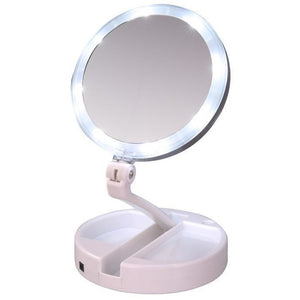 Power Glam™ LED Lighted Makeup Mirror