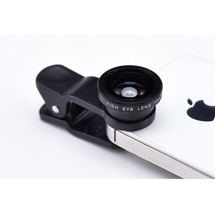 SMARTPHONE CLIP-ON LENSES - ASSORTED COLORS