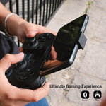 Experience the enhanced comfort and feel of the GameSir T1 Gaming Controller. It features a pressure sensitive D-pad, 360-degree without-dead-zone analog joysticks of high sensibility, unique design of triggers R2 / L2 and double shock vibration.