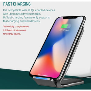 FASTCHARGE® Wireless Charger Dock for All Devices!
