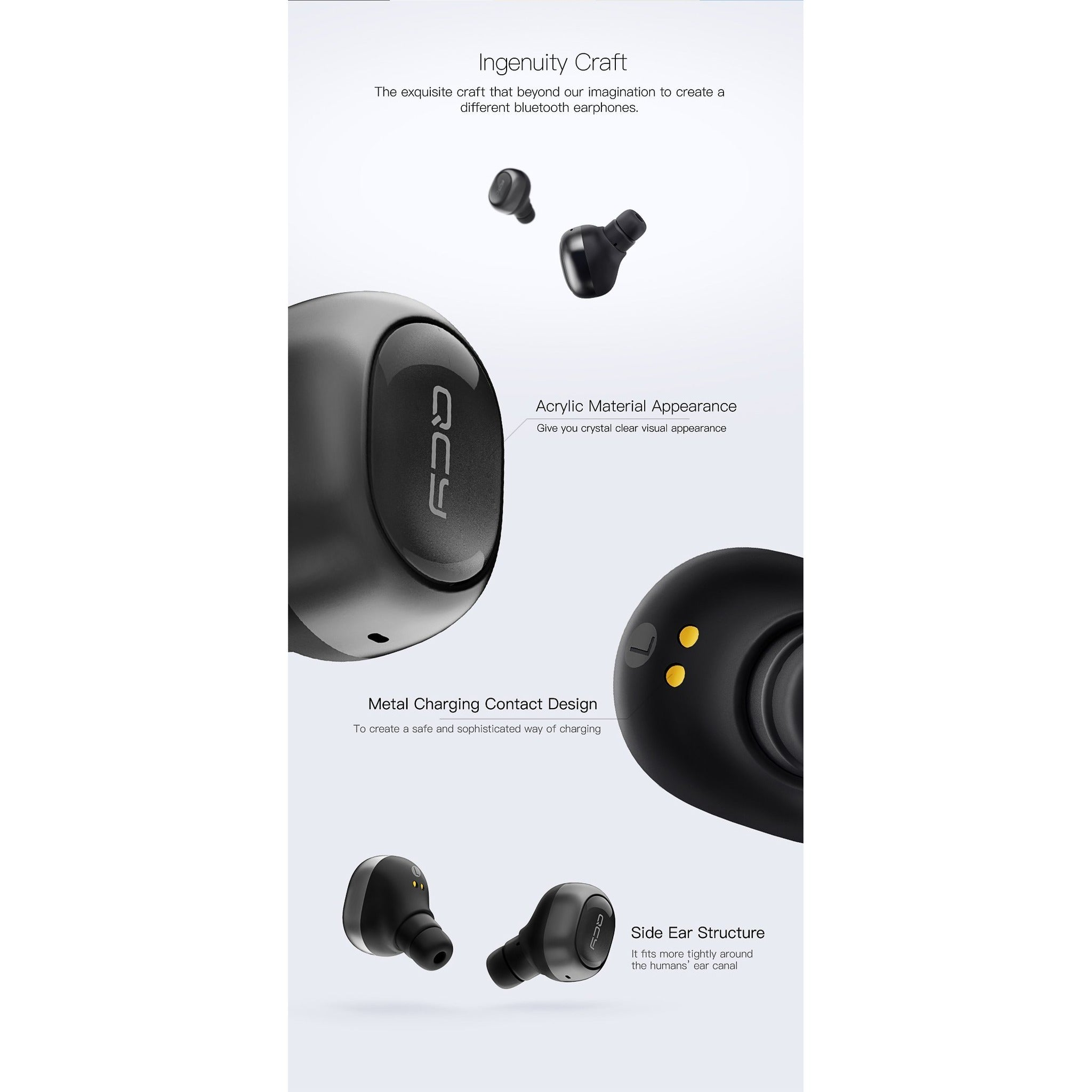 QCY® Powerful Wireless Earphones