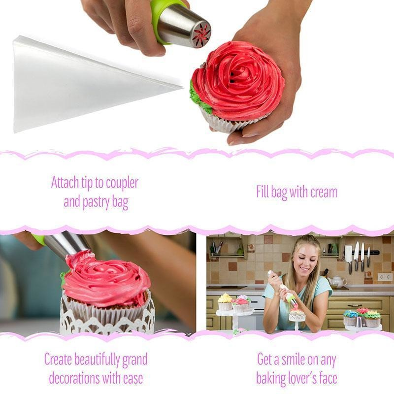 Magic Floral Icing Tips