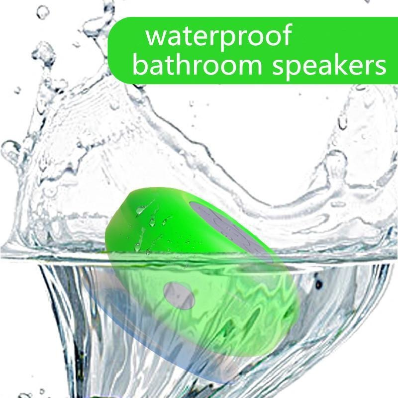 High Quality Sound Bluetooth Shower Speaker with Mic and Controls