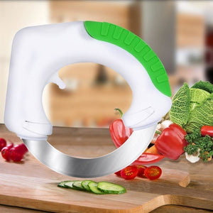 Circle Stainless Steel Vegetable Chopper-Slicer-Cutter