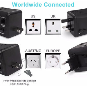 All-in-One Dual Traveler Port Adapter