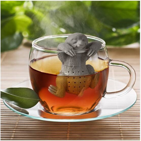 Lazy Sloth Tea Infuser Silicone - Reusable