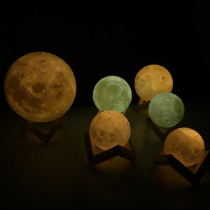 LED Moon Night Lamp - The Innovative Home Decor