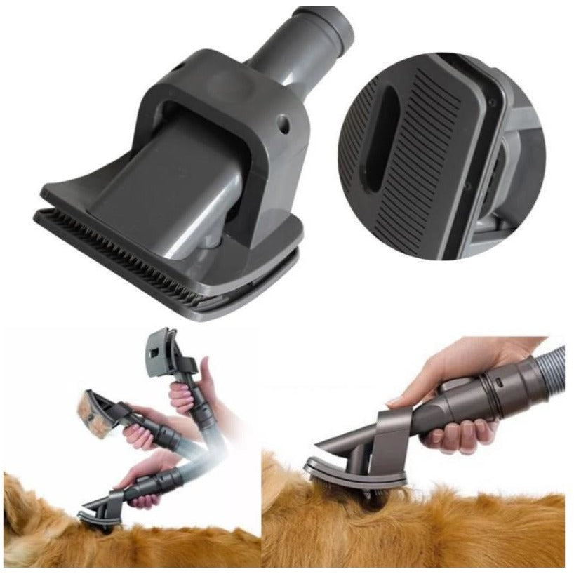 Discover this amazing vacuum grooming brush for your pets! You can just love your pet but not their hair. This handy tool takes good care of your cats, dogs and, furniture.