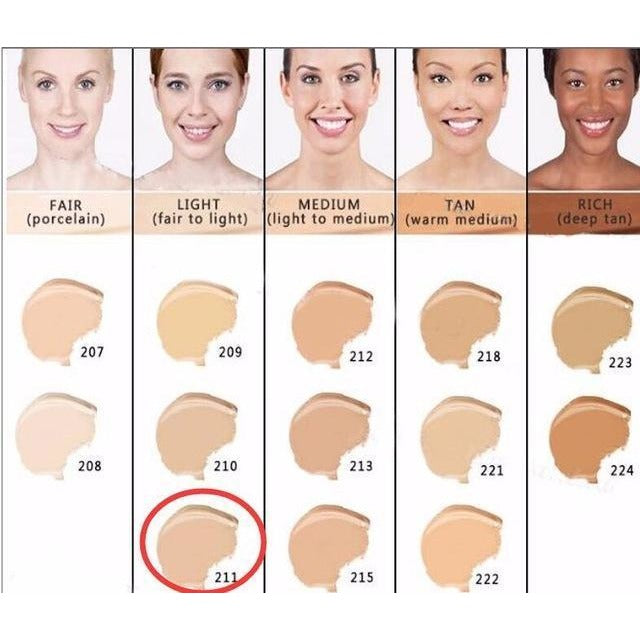 High Coverage Base Make Up