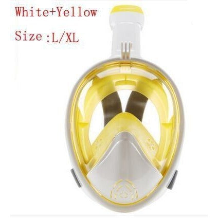 Full Face Snorkel Mask for action camera