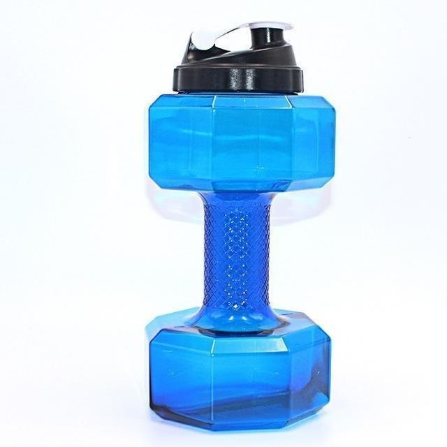 2.5L Dumbbells Shaped Plastic Water Bottle