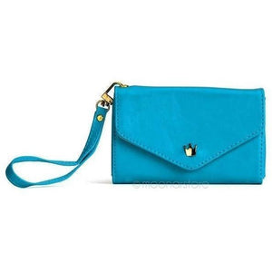 3-IN-1 STYLISH SMARTPHONE WALLET, PURSE & WRISTLET - ASSORTED COLORS