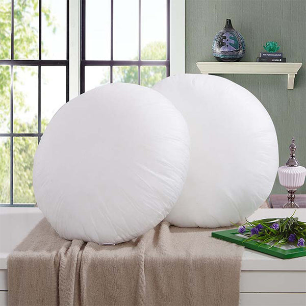 Round Pillow Insert For Cushion - Seek The Void