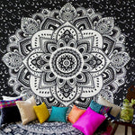 Wall Hanging Tapestry in Tribal, Bohemian, Mandala, Celestial, and Floral Styles - Seek The Void