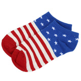 USA Flag Star Stripe Pattern Socks