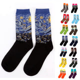 Retro Art Oil Painting Style Men/Women Socks