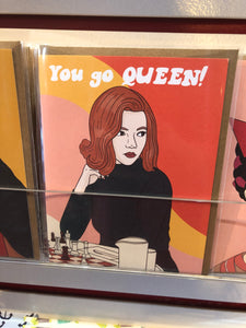 Queen's Gambit Greeting Card