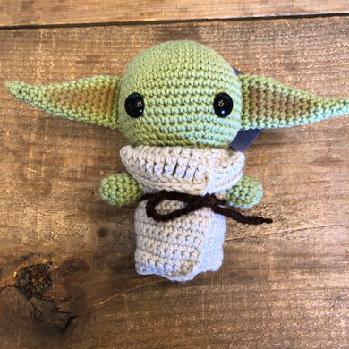 Green Alien/Baby Yoda - Hooked by Britt