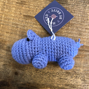 Hilda the Hippo! - Hooked by Britt