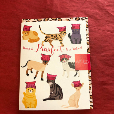 Cats Purrfect Birthday Card