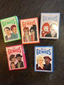 Genius Playing Cards! Genres for Everyone!