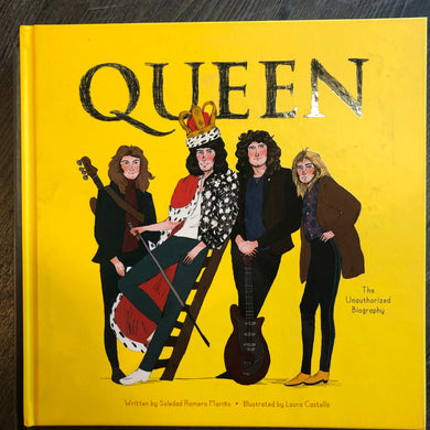 Queen Unauthorized Biography Book