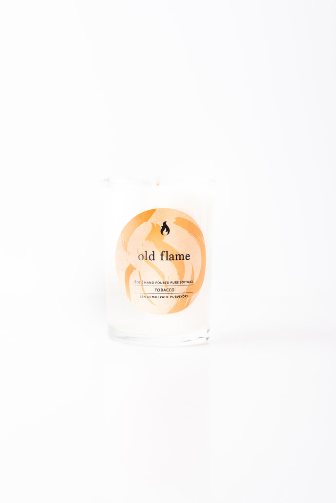 Tobacco Scented Soy Candle