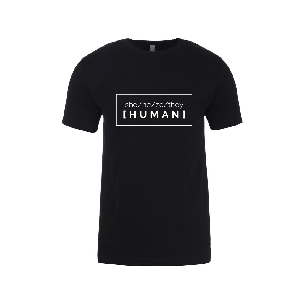 she/he/ze/they[human] t-shirt