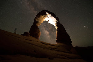 Milkyway Self Portraits, Delicate arch