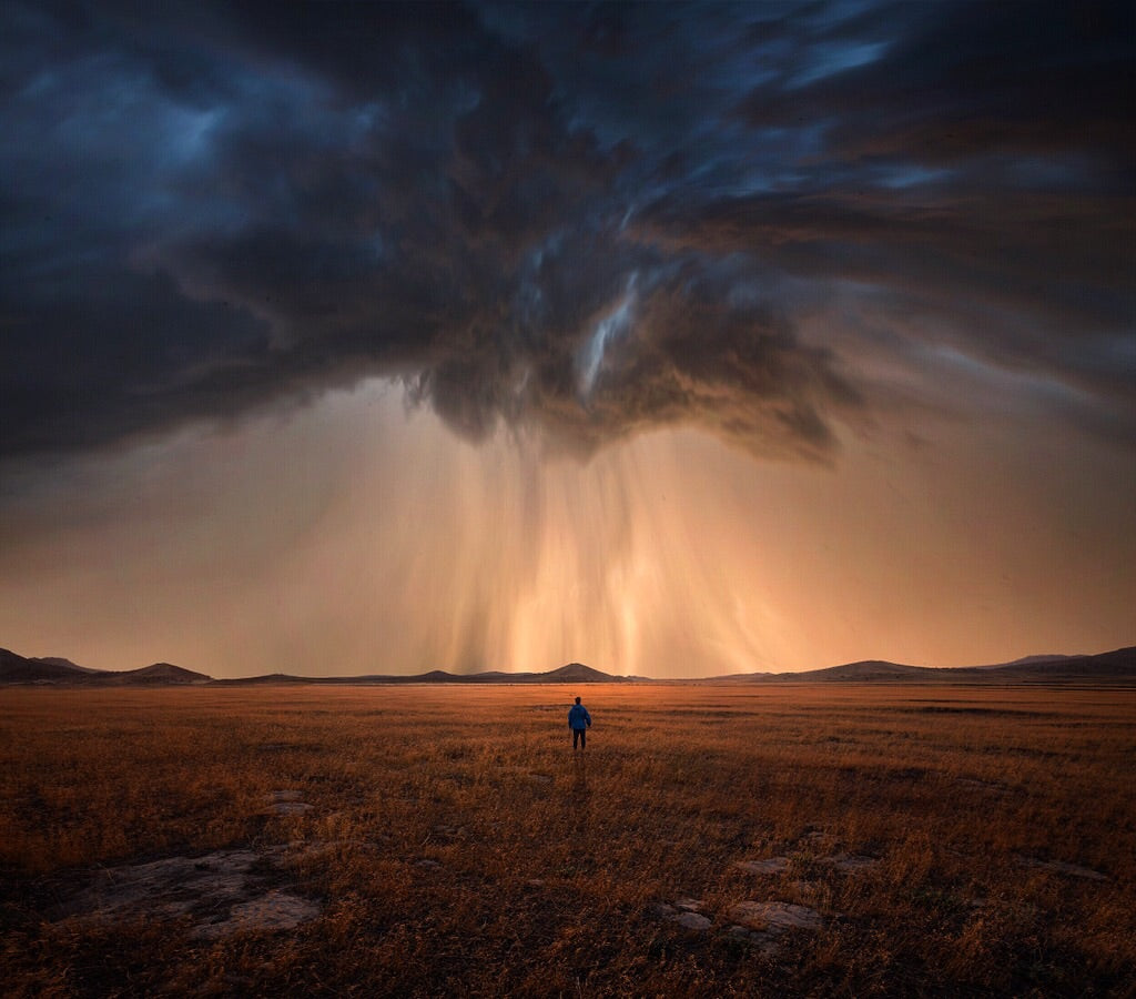 Storm Self Portrait Composite