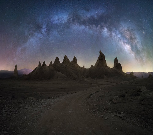 Trona Milkyway Panorama Tutorial