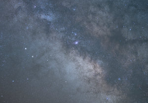 Tracked Core milkyway Composite tutorial Zion national Park