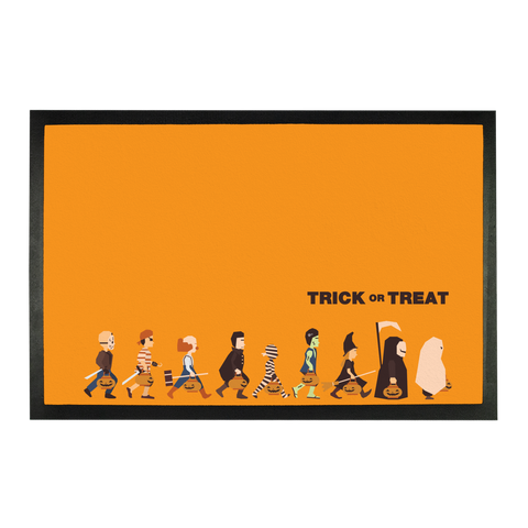 Trick or Treat Sublimation Doormat