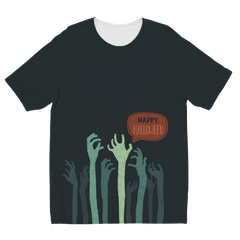 Happy Halloween Sublimation Kids T-Shirt
