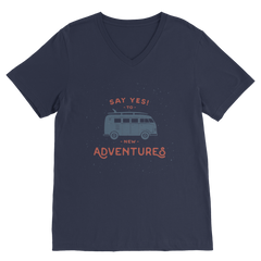 New Adventures Premium V-Neck T-Shirt