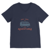 Image of New Adventures Premium V-Neck T-Shirt