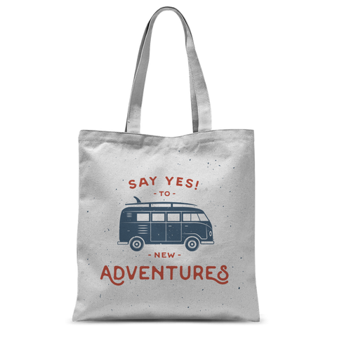 New Adventures Classic Sublimation Tote Bag