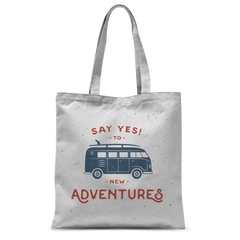 Image of New Adventures Classic Sublimation Tote Bag